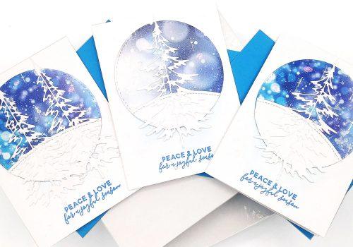 Winter Wonderland-Inspiration Scene Cards